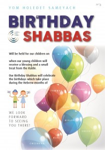 birthday shabbos